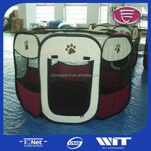 Pet playpen portable,pet dog cat play exercise pen playpen,fashion pet soft playpen