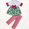 Pretty design kids apparel school girls without clothes wholesale children cotton clothes