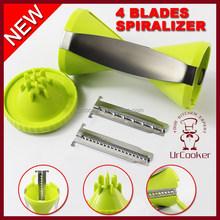 4 BLADES SPIRALIZER vegetable spiralizer manual vegetable slicer