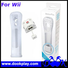For Wii Motion Plus with Silicone Case