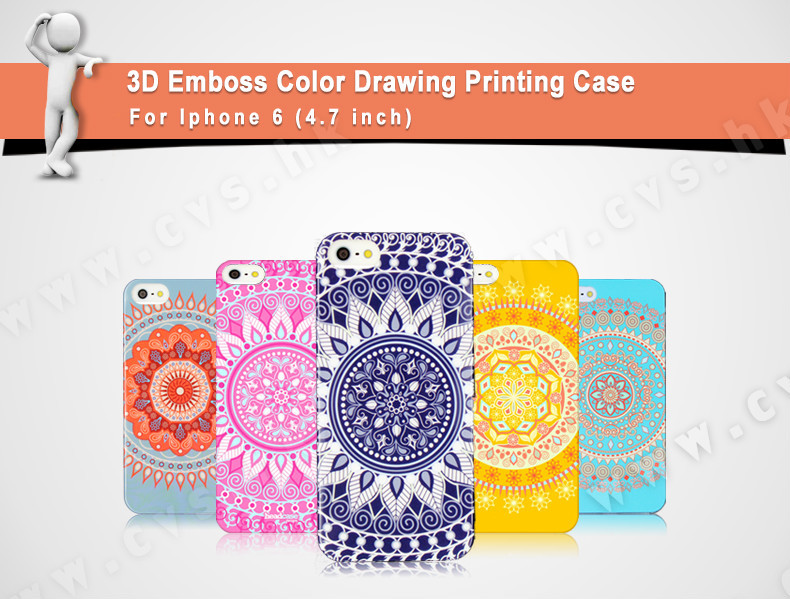 Creative Custom Design PC Mobile Phone Case For Iphone 6 Case