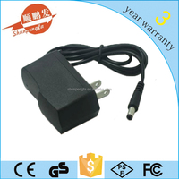 high quality black color 8.4v li-ion battery charger 1a
