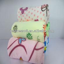 Factory direct sale microfiber printed cheap face towel