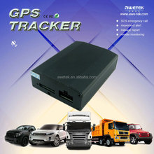 Quad band spy mini realtime gps gsm gprs tracker supporting SOS emergency call and mileage report