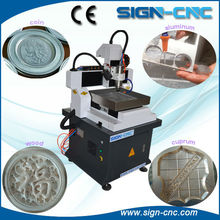 Cheap SIGN 400*400mm cnc router metal engraving machine / mini cnc router metal engraving machine