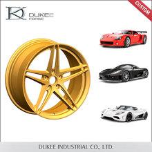 Caliente venta 2015 producido por nuevo modelo de buena calidad Alibaba chrome mag ruedas