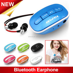 High quality cheap wireless in ear stereo earphone for iPhone 6 earphone with mic
