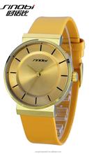 SINOBI S9481G/L Wholesale Chronograph Luxury Couple Lover Wrist Watch Manufacturer in China
