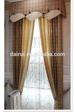 2014 Nuevo- Cortina de hilo de lino europeo para ventana, cortinas teñidas y diseños de cortinas, bastidor y cenefas