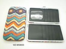 Best woman credit card wallet wholesale in aluminium case money clip wallet
