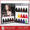 Boyan hair color shade hair dye color chart swatch book