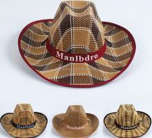 Summer wide eaves sunshade hat for men Cowboy hat Beach Jazz hat wholesale