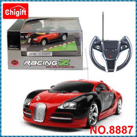 1:43 Metal RC racing Car with light OEM welcome