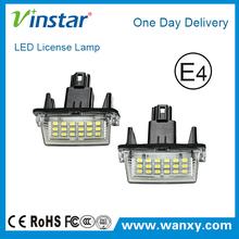 12V 18SMD LED Number License Plate Lamp Light led registration plate lamp for Toyota yaris 2012-/Camry 2013-