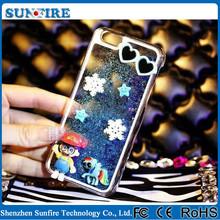 3d liquid phone case for iphone 6, glitter liquid phone case, glitter for iPhone case