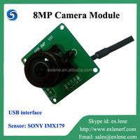 Unique 8MP USB hd ccd camera module for Linux/wind7/wind8