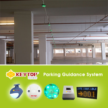 Parking sensors for indoor shopping mall car park