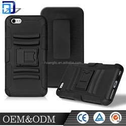 For Apple Iphone 6/ 6s / 6s plusinch heavy support rack 360 degree pvc rotating mobile phone protective case