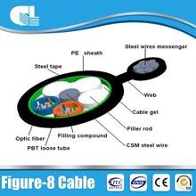 ODM/OEM acceptable gyxtc8a figure 8 waterproof fiber optic cable