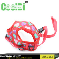 Special design leather dog harness pattern webbing harness