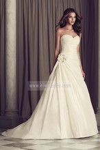 S290 Princess Sweetheart Ruffles Ball Gown Sweep Train Made in Vietnam Wedding Dresses