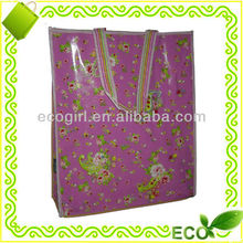 reusable high quantity new design double layor gravure printed non woven promotional tote shopping eco bag