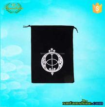 customized velvet jewelry bag /velvet pouch bag/velvet drawstring bag