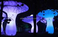 2015 Hot sale lighting decoration inflatable mushrooms giant inflatable mushroom
