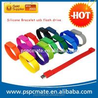 Colorful Bracelet USB 2.0 Memory Stick Flash pen Drive 4GB 8GB 16GB 32GB USB Flash drive