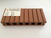 Top Quality Hollow Anti-UVoutdoor plastic vinyl decking board, WPC Flooring, Garden Fence