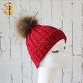 2015 sombrero de la Navidad, sombrero de invierno hecho a punto para señora, gorro de moda para fiesta callejera elegante y encantadora