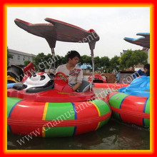 Water park games adult bumper boat inflatable bumper boat for sale