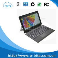 Shenzhen manufacture professional 11.6 inch tablet pc leather keyboard case