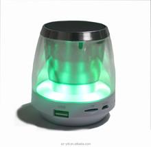 cheap magic colorful led light X28light dancing water vibration speaker bluetooth, wireless bluetooth speaker