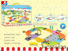 Kids Toy Parking Lot With 3 Cars HC164639