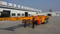 liangshan yalong newst high quality container semi trailer/semi-trailer transporter