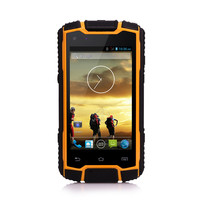 New android unlocked cell phone with the most powerful battery 3g waterproof military mobile phone