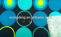 printing polyester spandex fabric with printing TPU laminated