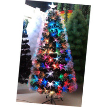 150cm LED Colorful plum-shaped fiber optic Christmas tree