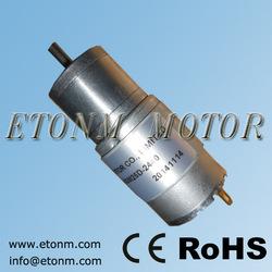 Brush communication mini dc gear motor 6v 12v