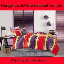 Bright colorful Floral used home bedsheet,full set bedding textile