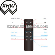 USB remote control for pc with 13 keys Shenzhen factory ISO9001