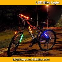 50pcs Wholesale LED Light Bicycle Fashion Colorful Frame Light LED Bike Accessory Decoration BL001