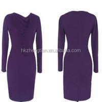 2015 Instyles new design office uniform picture women 3xl plus size dress career professional dresses bandage bodycon