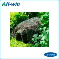high quality cute pet house green world natural rattan hegehog house
