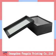 Wholesale Black And White A3 Apparel Packaging Paper Box