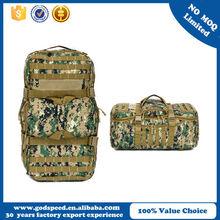 nylon material sport luggage duffle bag military travel bags