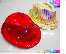 led Fashion Jazz lighted hats and caps
