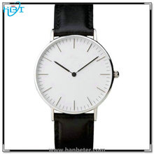 Japan movement OEM available Custom 3-5ATM waterproof best price & high quality genuine leather