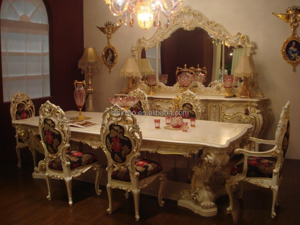 Bisini European Style Luxury Dining Room Set Dining Room